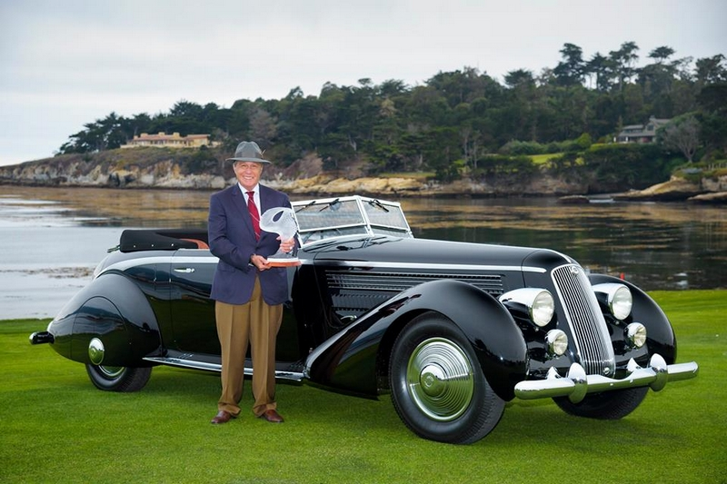 the grand conclusion of the 66th Pebble Beach Concours d'Elegance