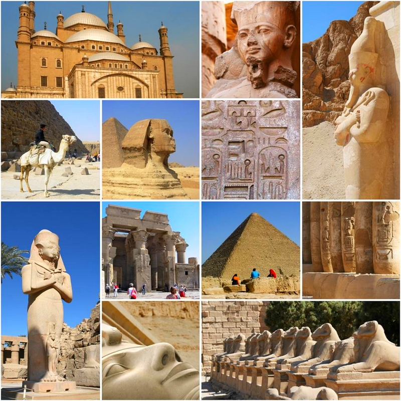 the land of ancient civilizations, Egypt