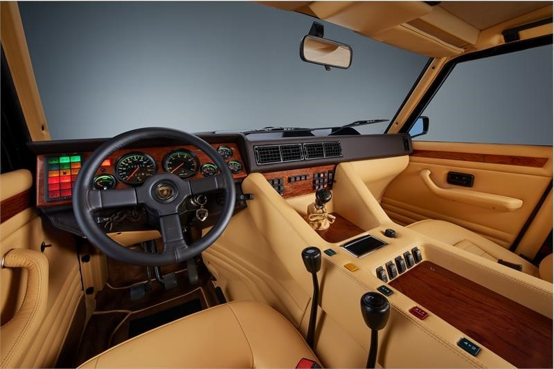 the legendary LM002 - the father of luxury SUVs- the interior