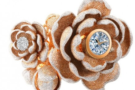 Top Masters of Jewelry: The most diamonds set on a watch