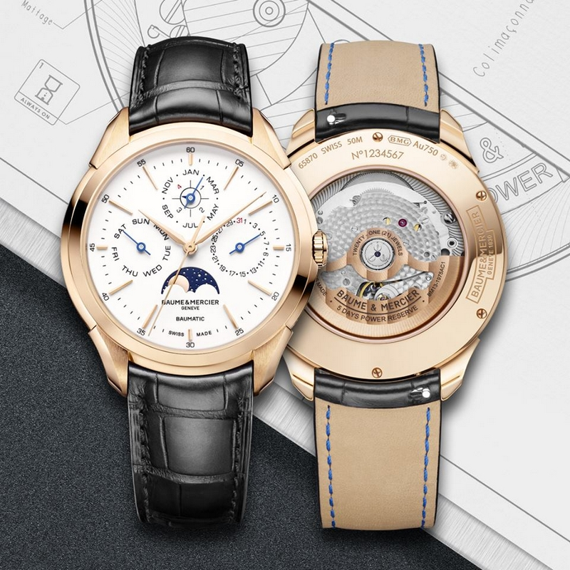 the new Clifton Baumatic Perpetual Calendar timepiece is bound to win over those who appreciate grand complications.