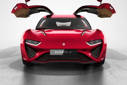 2015 Geneva Motor Show: the new QUANT F electric four-seater e-sports saloon with range of 800 km