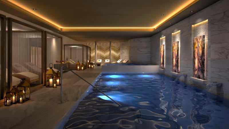 the spa at Le Blanc Spa Resort Los Cabos
