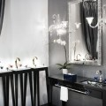 the vibrant Pétale de Cristal collection in collaboration with  Baccarat