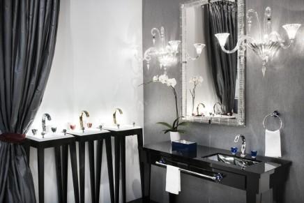 Baccarat Pétale de Cristal brings artistry to fine baths