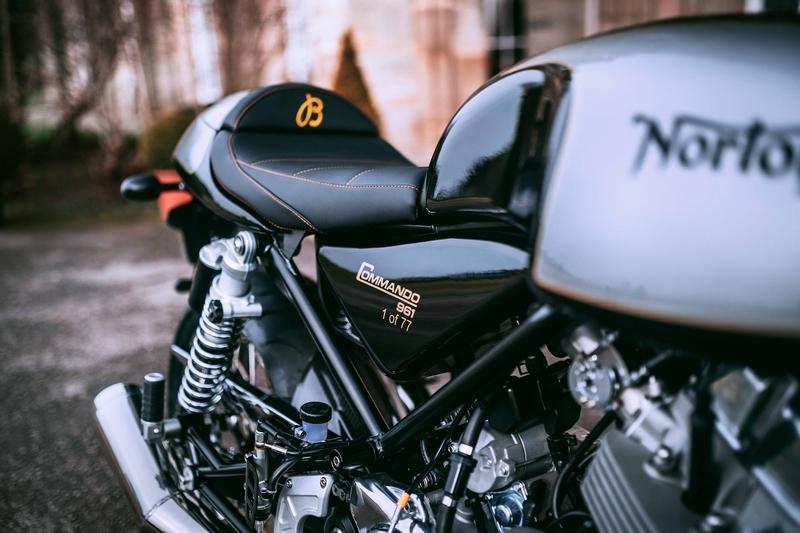 The Norton Commando 961 Café Racer MKII Breitling Limited Edition Motorcycle