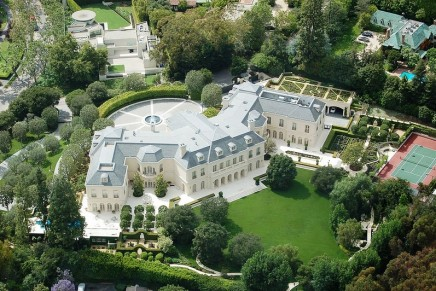 Uber co-founder buys record-breaking LA mansion for $72.5m as drivers fight for wages