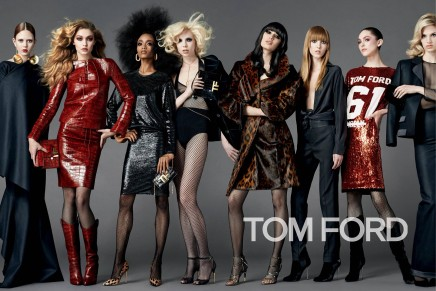 Tom Ford focused on individual style of different types of women