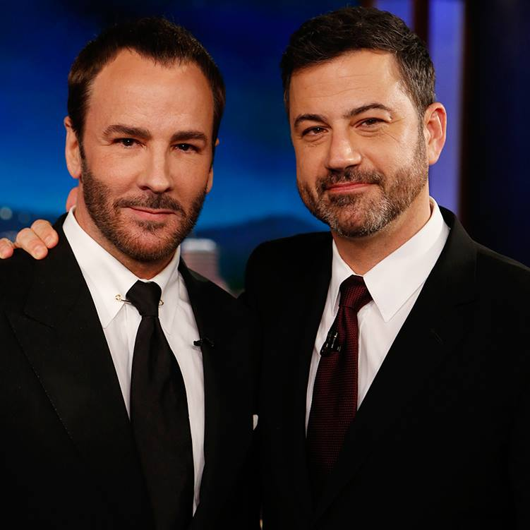 tom ford on jimmy kimmel live