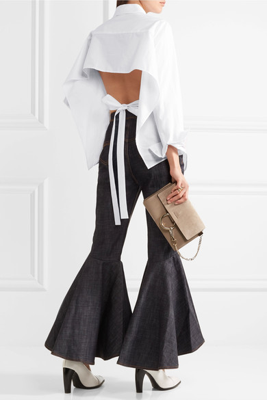 tome open-back shirt