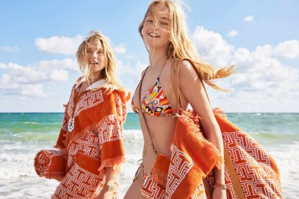 Holiday styles from Spring/Summer 2018 at Tory Burch beach getaway pop-up shop