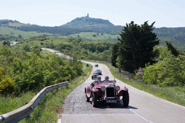 toscan roads mille miglia 2016