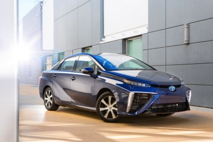 The future is here: mass-market hydrogen cars take to Britain's roads