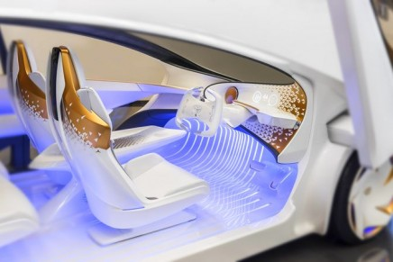 Advanced artificial intelligence learns from and grows with the driver of the Toyota Concept-i