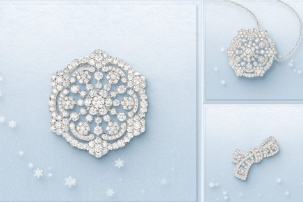Enter a frozen wonderland with Van Cleef & Arpels Snowflake