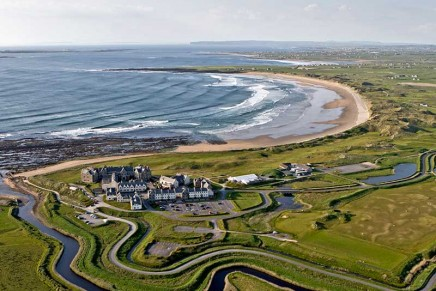 Trump's other wall: is his Irish resort a sign he believes in climate change?