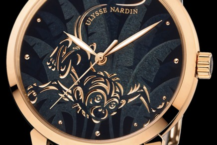 """""""Year of the Red Fire Monkey"""" by Ulysse Nardin – A joyful timepiece, one cannot help but smile when checking the time"""