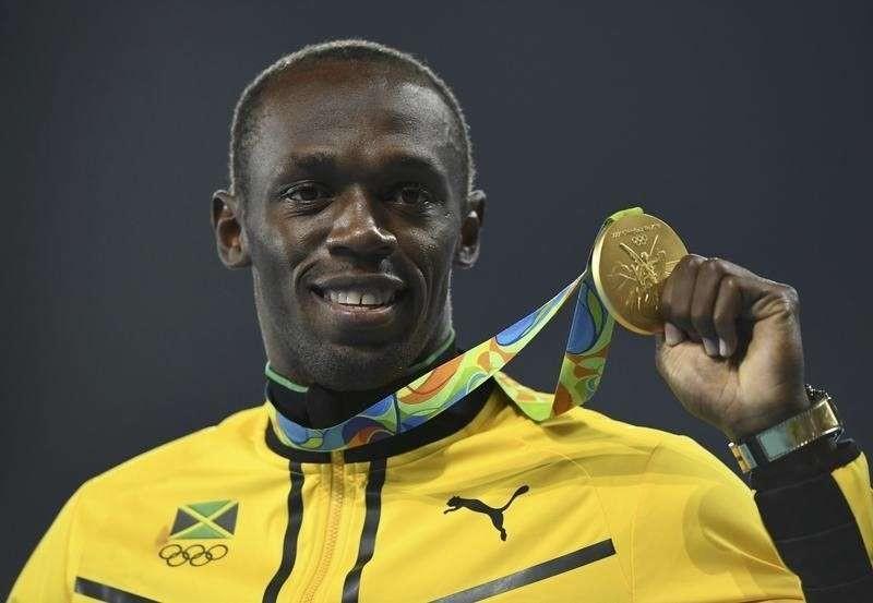 usain bolt olympics rio 2016 gold medals - 2LUXURY2.COM