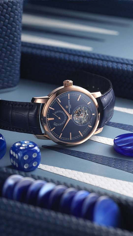 vacheron constantin x bucherer traditionelle watches with blue dial