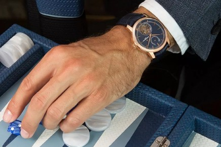 Blue is the new black for Vacheron Constantin x Bucherer Traditionnelle