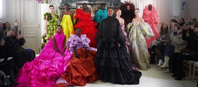 valentino fantasy gowns - haute couture 2019