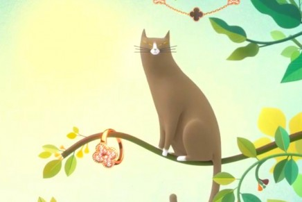 Celebrating Luck: Follow Van Cleef & Arpels' mischievous cat into the imaginary world of Alhambra