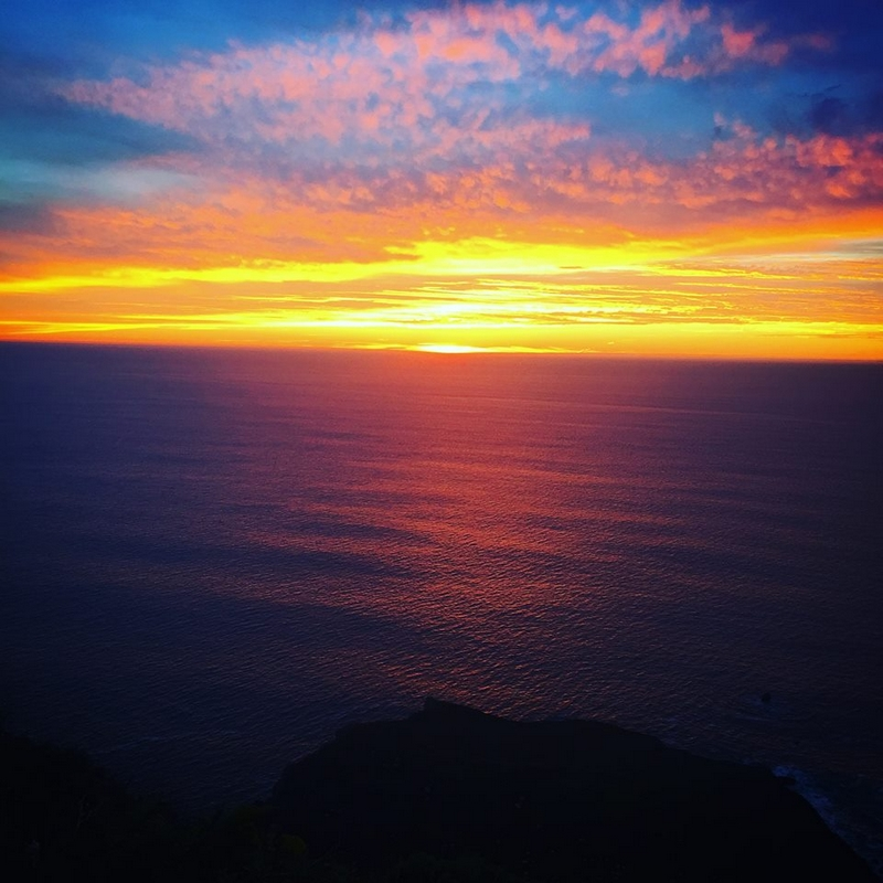 ventana big sur reopening - the magical sunset