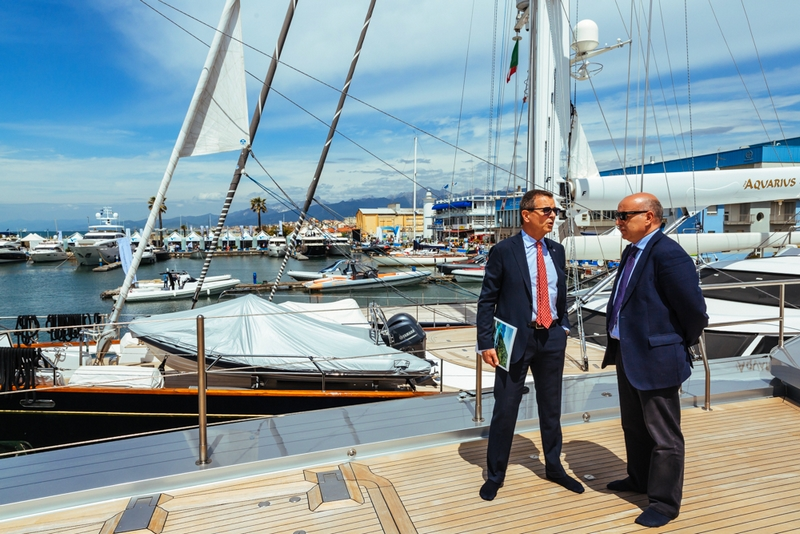 versilia yachting rendez-vous 2017 - first day of the luxury yachting show Italy viareggio