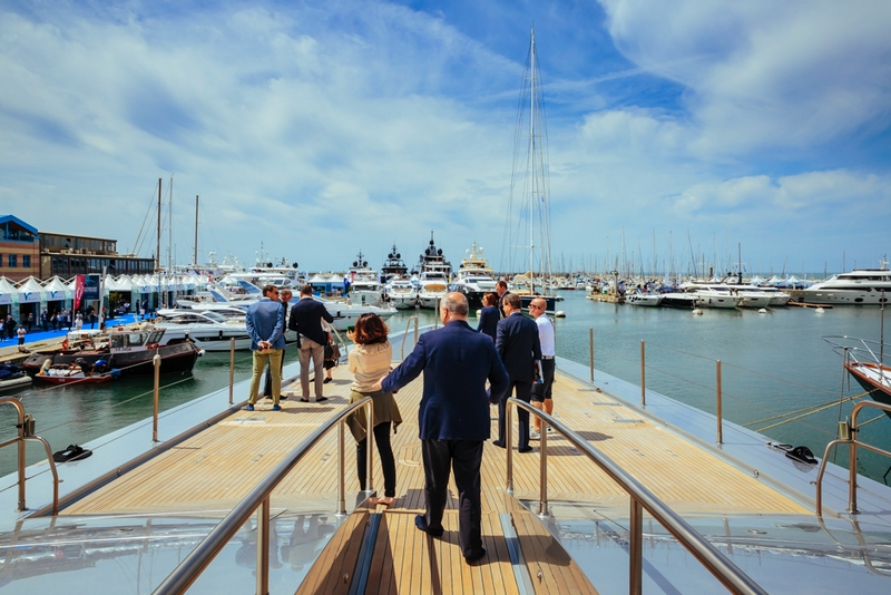 versilia yachting rendez-vous 2017 - first day of the luxury yachting show Italy