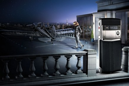 Vertu for Bentley: Bentley's luxury range expanded into the cutting-edge world of mobile communications