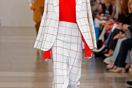 Victoria Beckham's naughty side returns at London fashion week