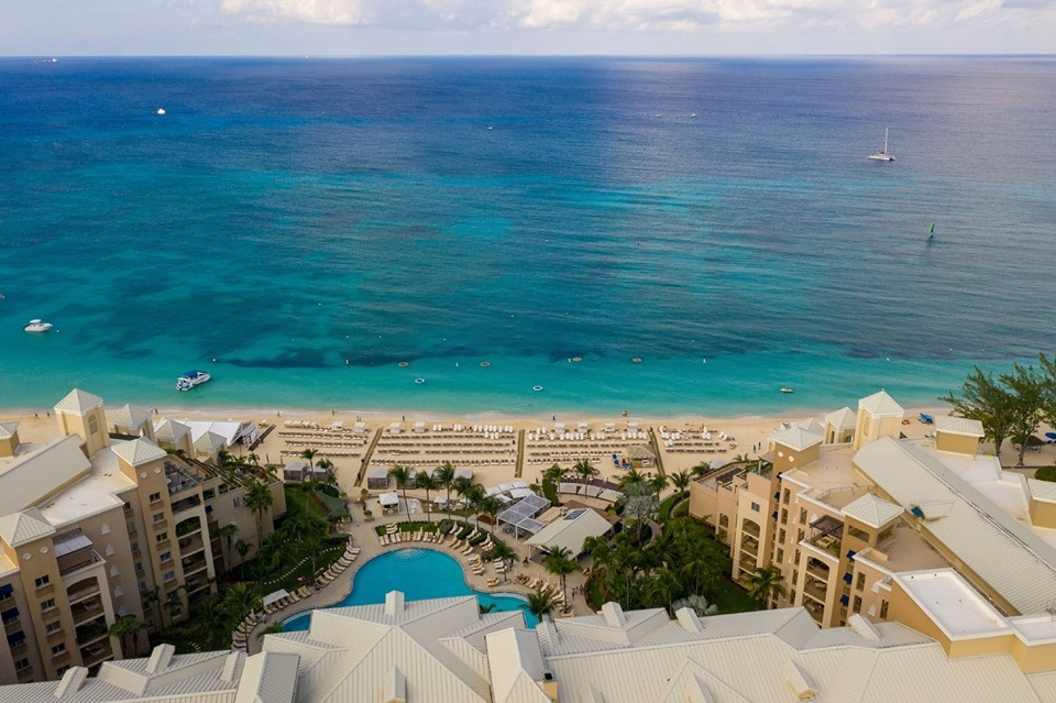visions of Caribbean color at The Ritz-Carlton, Grand Cayman