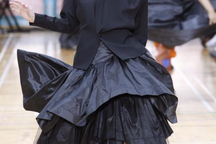 Who wears the skirt? Anyone. The fashion world goes gender-free