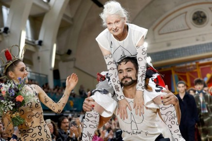 Vivienne Westwood is at her outlandish best for menswear show