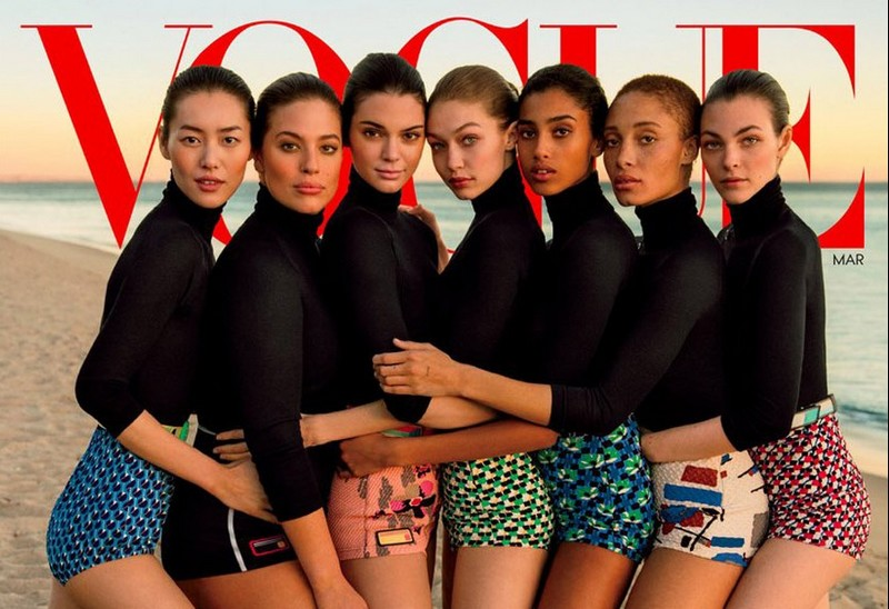 vogue march cover 2017