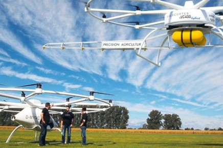 Fly the green way with Volocopter