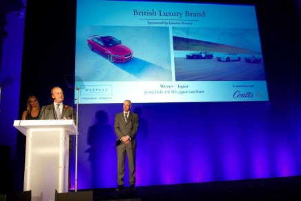 Jaguar named the Best British Luxury Brand of the year