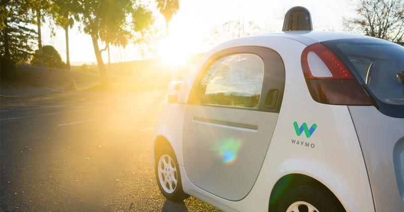 waymo car design in california