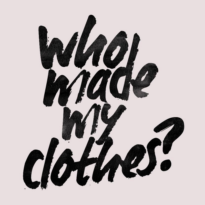 who made my clothes- fashion revolution
