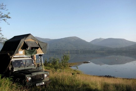 The wilderness in comfort … wild glamping in Scotland