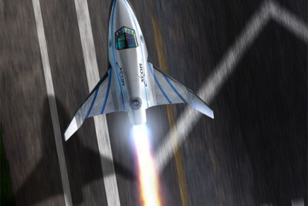 To the edge of space in five minutes with XCOR Lynx Spacecraft