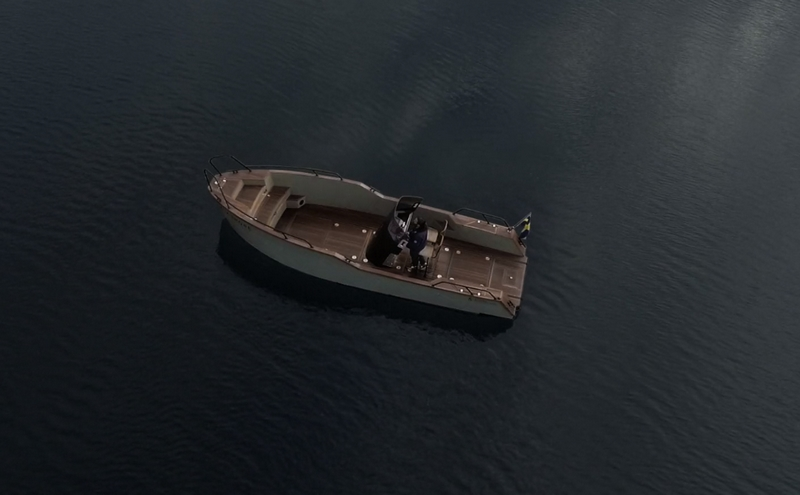 xshore boat 2019 from above