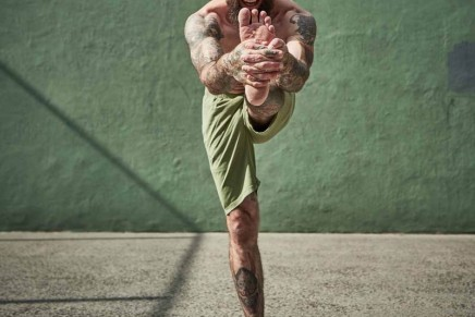 Sportswear brands expand men's yoga ranges