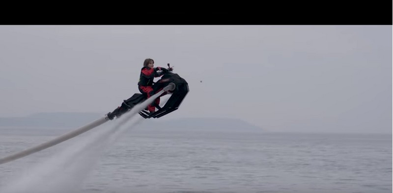 zapata Flyride on water